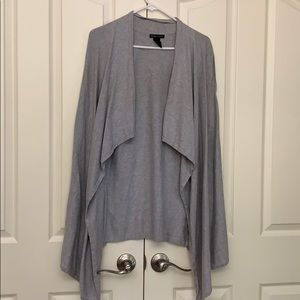 NWOT New York & Co Grey Cardigan Size Medium